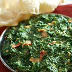 classic indian creamed spinach recipe