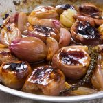 glazed roasted shallots recipe