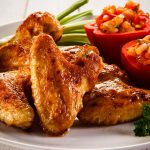oven baked hot chicken wings recipe