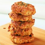 fried cauliflower fritters recipe