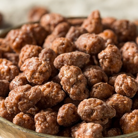 slow cooker sugar-roasted almonds recipe