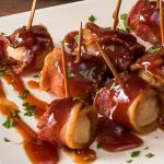 bacon-wrapped chestnuts appetizer recipe