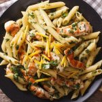 30 minutes chicken penne pasta with pesto