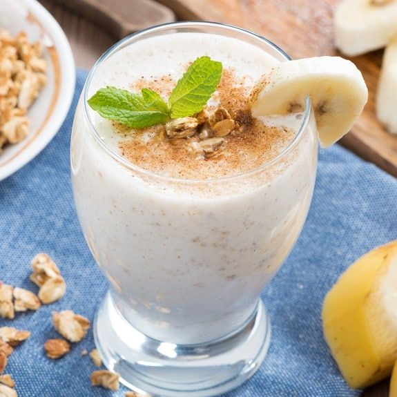 healthy protein milkshake recipe