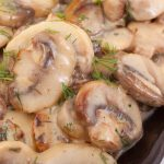 slow cooker braised mushrooms recipe