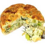 slow cooker spinach and kale quiche recipe