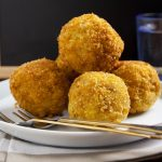 fried risotto balls appetizer recipe