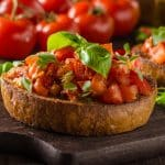 slow cooker tomato bruschetta recipe