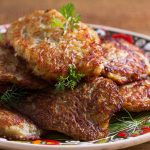 fried chicken-pumpkin patties recipe