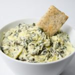 slow cooker easy spinach and artichoke dip recipe
