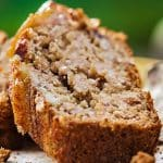 Instant pot keto banana bread recipe. Very easy keto friendly, low-carb dessert cooked in an electric instant pot. #pressurecooker #instantpot #desserts #breakfast #bread #banana #keto #lowcarb #healthy