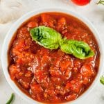 Instant pot healthy keto marinara sauce recipe. Learn how to cook easy and healthy Italian sauce in an electric instant pot. #instantpot #pressurecooker #keto #diet #sauce #dinner