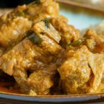 Instant pot Indian lamb korma recipe. Learn how to cook spicy and tasty lamb in an electric instant pot. #instantpot #pressurecooker #dinner #lamb #indian #spicy