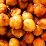 Air fryer crispy chickpeas recipe. Learn how to cook yummy and crispy snack in an air fryer. #airfryer #snacks #appetizers #party