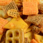 Air fryer chex mix recipe. Learn how to cook easy and yummy snacks in an air fryer. #airfryer #snacks #healthy #vegetarian #vegan