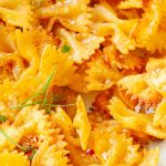 Air fryer pasta chips recipe. Learn how to cook cheesy pasta chips in an air fryer. Yummy appetizer! #airfryer #chips #pasta #appetizer #easy #crispy