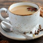 """Instant pot spiced milk tea recipe. Spiced milk tea or """"Masala Chai"""" cooked in an instant pot. Easy and tasty Indian drink. #pressurecooker #instantpot #healthy #drinks #beverages #milk #spiced #tea"""